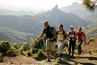 spain, Gran Canaria group, hiking, mountain scenery