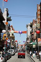 usa, California, San Francisco, Chinatown, street scenery,