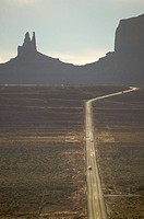 usa, Arizona, monument Valley, street, landscape, sandstone_rocks, back light, cars, North America, sight, destination, trip, tourism, country road, r...