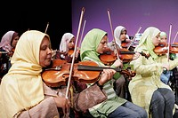 Al Nour Wal Amal Light and Hope Egyptian orchestra from blind women
