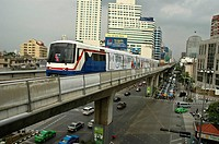 Sky Train Bangkok, Thailand