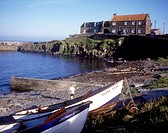 Craster _ Fishing village famed for its smoked kippers