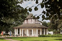 White Pavilion on the Kamp, Bad Doberan, district Bad Doberan, Mecklenburg-Western Pomerania, Germany