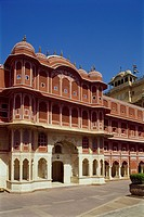 Asia, India, Rajasthan, Jaipur, City Palace, Chandra Mahal