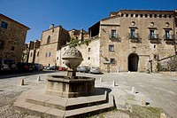 San Vicente Ferrer Square, Plasencia, Cáceres province , Extremadura, Spain.
