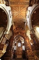 Baroque inner decoration at Church of Saint Francis, Porto, Portugal
