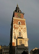 Poland, Krakow, Town Hall Tower