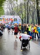 Poland, Krakow, marathon
