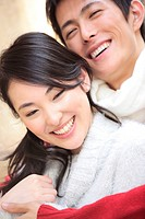 Portrait of Japanese couple