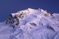 bergruecken, area, bergkuppe, bergkegel, ascent, dufourspitze, Alps