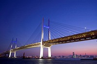 Yokohama bay bridge (thumbnail)