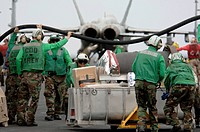 Moving mail across the flight deck