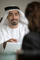 meeting, business, contract, businessmen, businessman, Arabic