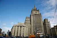 Sep 2008 - The Stalinist forigen Affairs Ministry building of Seven Sisters which are seven Stalinist skyscrapers, Moscow, Russia
