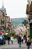 Sep 2008 - Grand Rue, the main street in Saverne, Alsace, France