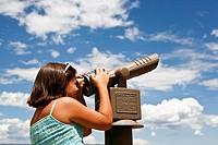 tourist, grand canyon national park, arizona, usa