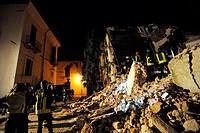 earthquake, l´aquila 2009