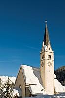 chiesa parrocchiale, arabba, veneto, italia