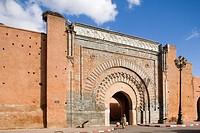 africa, morocco, marrakech, bab agnaou gate