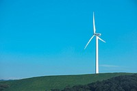 turbine, landscape, propeller, sky, windturbine, energy, nature