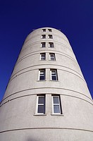 Round shaped residential development, London, UK (thumbnail)