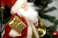 Father Christmas, red, magic, gift, present, holidays (thumbnail)