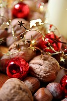ball, bauble, brown, Christmas, christmas, Christmas tree ball