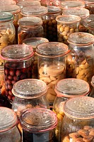 Foresight, at home, conserve, canning jars, canning jar, fruit, aliment (thumbnail)