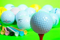 sports equipment, leisure, ball, golfball, golf, sports