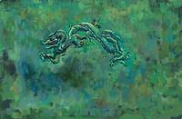 mythical, dragon, myth, tradition, painting, mythology, animal