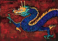mythology, painting, mythical, myth, dragon, creature, tradition
