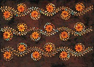 plant pattern, Orientalpainting, design, flower, pattern, nature, tradition
