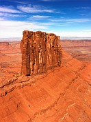 Aerial landscape of mesas in Canyonlands National Park, Moab, Utah, United States (thumbnail)