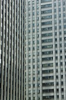 High rise office buildings, cropped view (thumbnail)