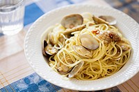 Vongole bianco