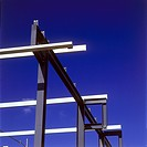 Structural steel framework