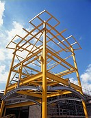 Steel Frame, Warehousing, England (thumbnail)