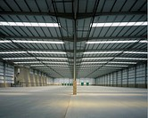 Interior of New Warehouse