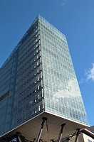 All_steel glass residential building
