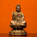 Hindu statue of Kuan Eim, Goddess of mercy and compassion
