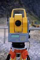 EDM or Total Station on site