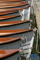 metal, leisure, sports, recreation, rows, boat