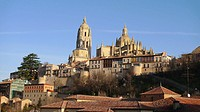 Catedral de Segovia. Castilla y León. España.