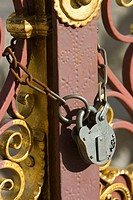 Chain, Closed, Close_Up, Iron, Lock