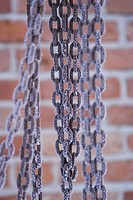 Brick Wall, Brown, Chain, Close_Up, Day