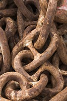 Chain, Close_Up, Day, Large Group Of Objects, Link