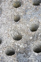 Holes, Art, Granules, Day, Close_Up, Appearance