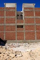 Brick Wall, Building, Building Exterior, Building Structure, Construction Site