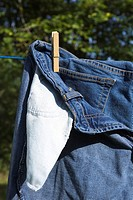 Close_Up, Clothes Peg, Clothesline, Day, Drying