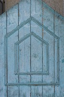 Blue, Close_Up, Cracked, Door, Geometric Shape